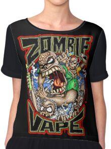 Zombie Vape Chiffon Top