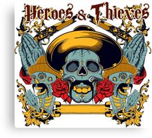 Heroes and Thieves Canvas Print