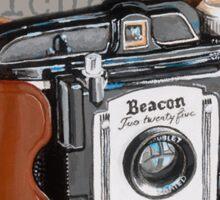 Vintage Beacon 225 Camera Sticker