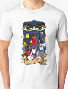 Videogame Ninjas Unisex T-Shirt