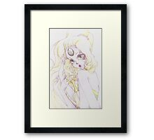 { giant woman } Framed Print