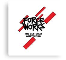 force works Canvas Print