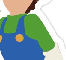 Luigi - Super Smash Bros. Sticker