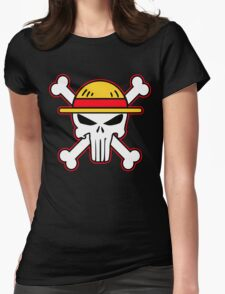 StrawHat punisher new Womens Fitted T-Shirt