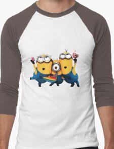Minion by remi42 Men's Baseball ¾ T-Shirt