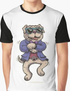 dancing dog Graphic T-Shirt