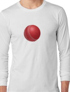 Cricket Ball Long Sleeve T-Shirt