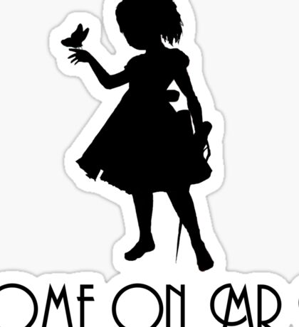 Little Sister - Come On, Mr. B! (Black) Sticker