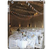 The Wedding Barn iPad Case/Skin