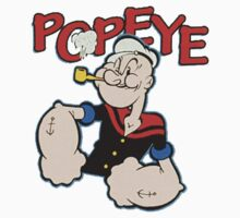 Popeye One Piece - Long Sleeve