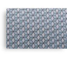Seamless Squares And Blocks Background Canvas Print