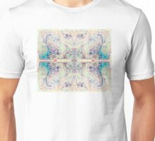 Spirit ink design Butterfly in blue for large decorative prints wall art skirts duvet covers  Unisex T-Shirt