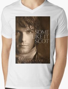 Jamie Fraser Outlander Mens V-Neck T-Shirt