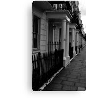 Streets of London Canvas Print