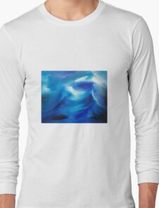 The wake - an original oil painting Long Sleeve T-Shirt