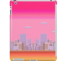 8-bit City iPad Case/Skin