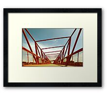 Bridge Perspective Framed Print