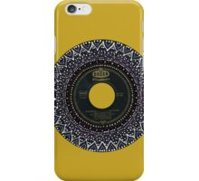 Vinyl Mandala iPhone Case/Skin