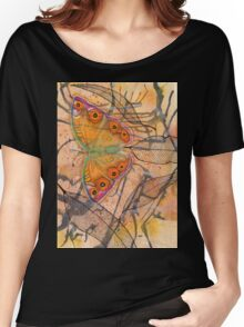 """""""Meadow Argus""""  Women's Relaxed Fit T-Shirt"""