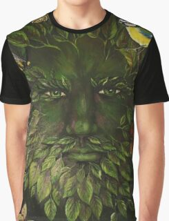 The Greenman Graphic T-Shirt