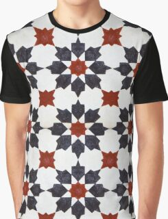 Moroccan Tile Pattern Graphic T-Shirt