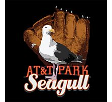 AT&T Park Seagull Photographic Print