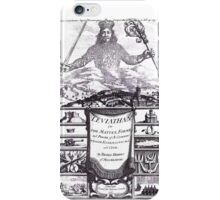 Thomas Hobbes - Leviathan iPhone Case/Skin