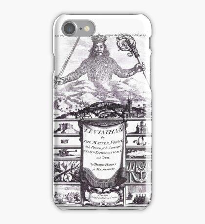 Thomas Hobbes - Leviathan iPhone Case/Skin