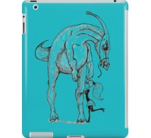 huggable dinosaur iPad Case/Skin
