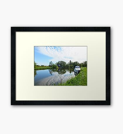 Early Morning on the Thames Framed Print