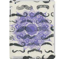 Mustache Mandala iPad Case/Skin
