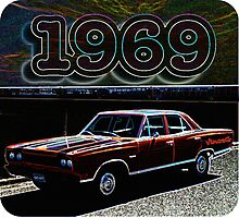 1969 Retro Colors Photographic Print