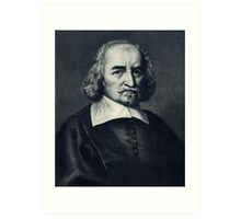 Thomas Hobbes Art Print