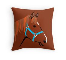 Horse thingy Throw Pillow