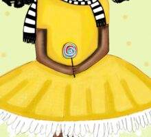 Girl in the Yellow Dress - Beatrice Ajayi  Sticker