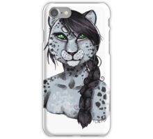 The Snow Leopard iPhone Case/Skin