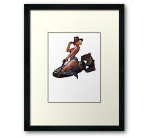 Tally-ho! Framed Print