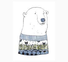 Chill Polar Bear Design Kids Tee