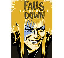 As the World Falls Down Photographic Print