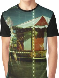 Carousel and Sea Graphic T-Shirt