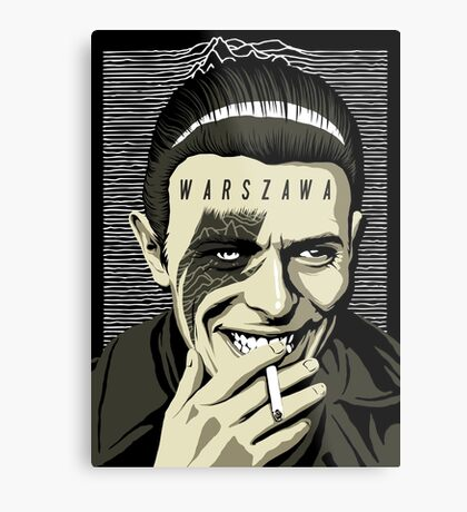 Warszawa Metal Print