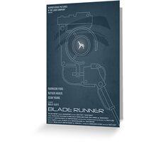 BLADE RUNNER (Voight Kampf Test Version) Greeting Card