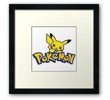 pokemo Framed Print