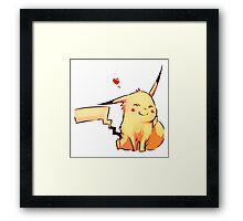 smile pokemon Framed Print
