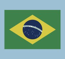 Brazil World Cup Flag - Brazilian T-Shirt Kids Tee