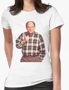 George Constanza  Womens Fitted T-Shirt