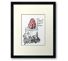 """""""Fun Gus"""" Framed Print"""