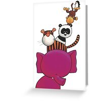 Splatter Stack Greeting Card