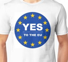 YES to the EU Unisex T-Shirt