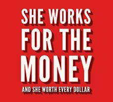 Beyoncé - Lemonade - 6 Inch - She Works For The Money Unisex T-Shirt